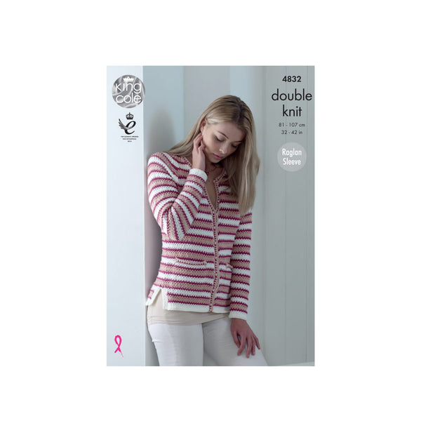 Knitting Pattern: Ladies' Cardigans in DK Yarn