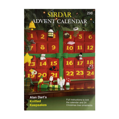 Knitting Pattern: Advent Calendar with Knitted Keepsakes