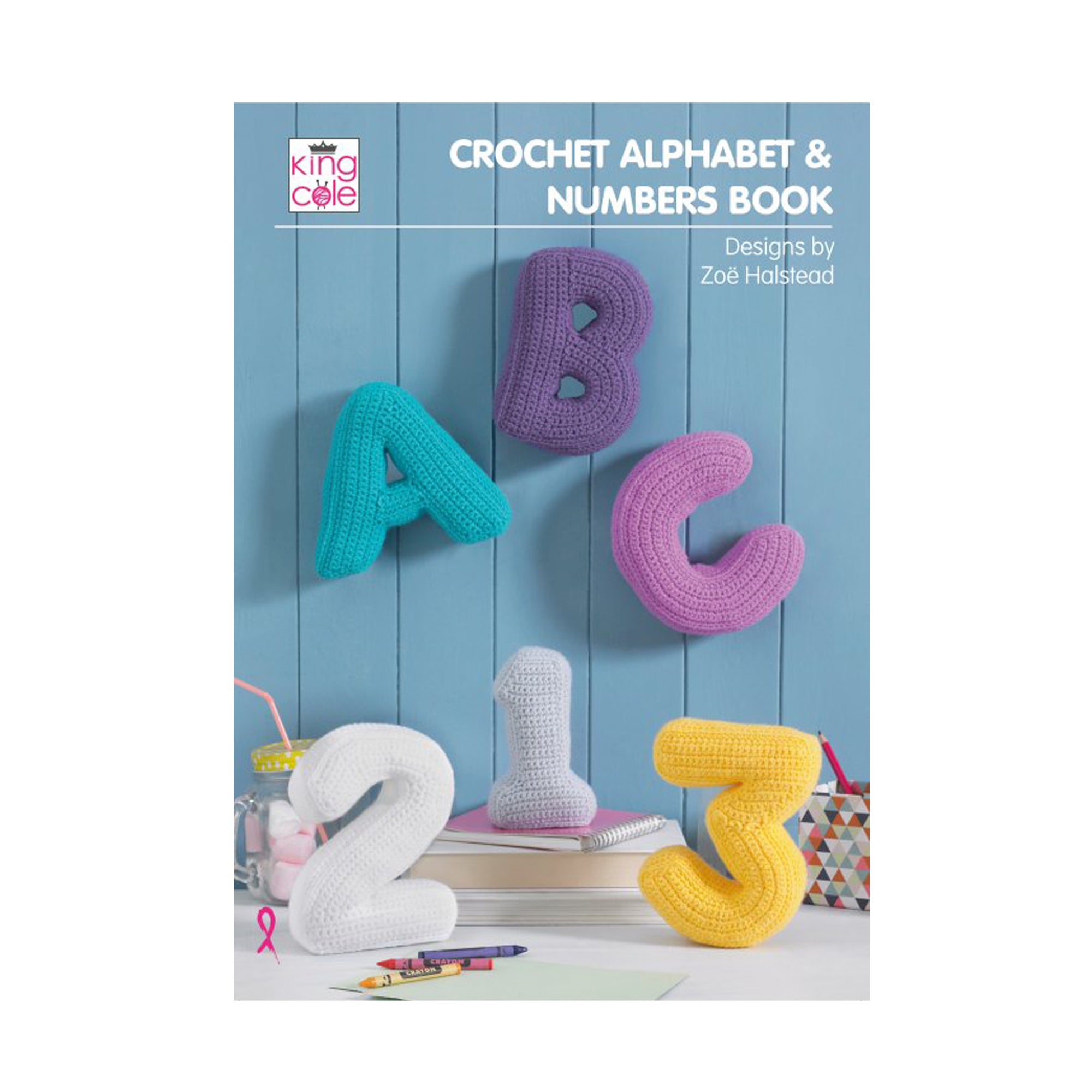 Crochet Pattern: Crochet Alphabet and Numbers Book