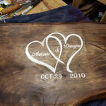 Wedding Bench Guest Book