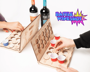 Battle Wine Shot - vino Piernas Largas Shop
