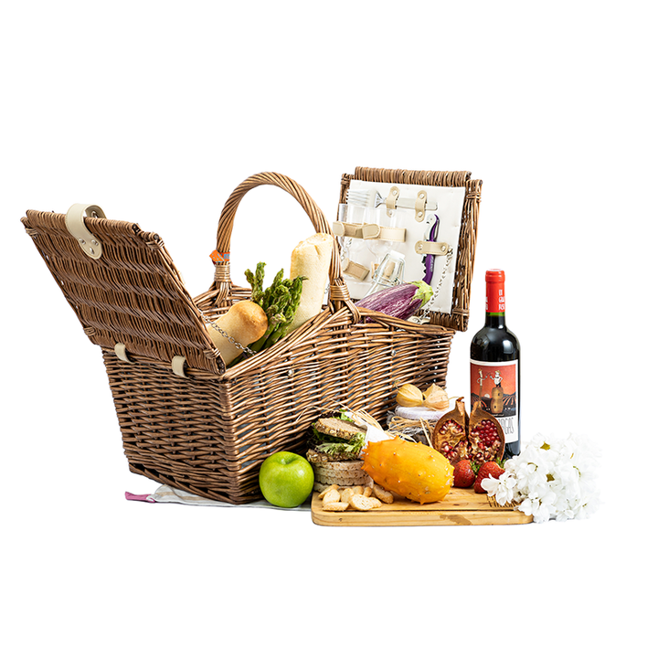 Canasta Picnic Yogui - vino Piernas Largas Shop