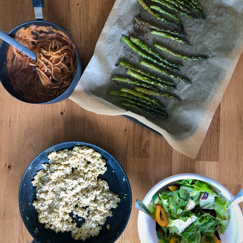 Building a plant-based dish + Pantry 101: January 31st