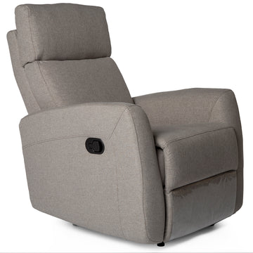 VOLTA | Recliner - Light Grey Fabric