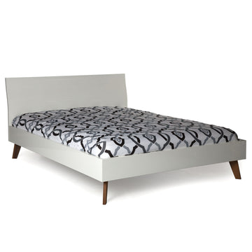 DALIA | White Modern Bed - Queen or Double