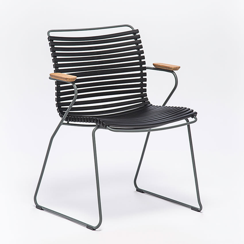 CLICK | Arm Chair - Black