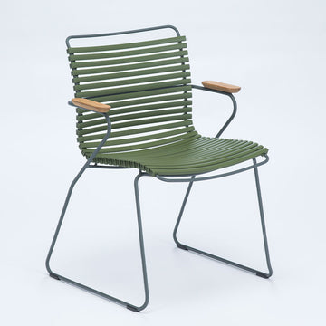 CLICK | Arm Chair - Olive Green