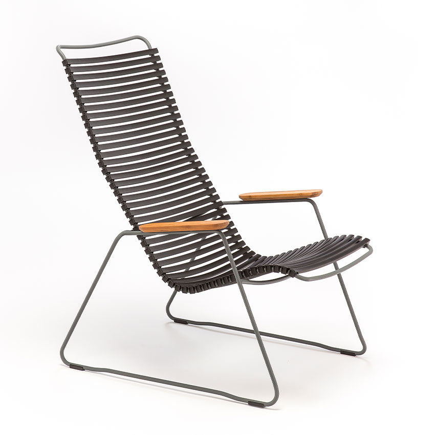 CLICK | Lounge Chair - Black