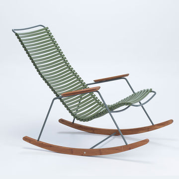 CLICK | Rocking Chair - Olive Green