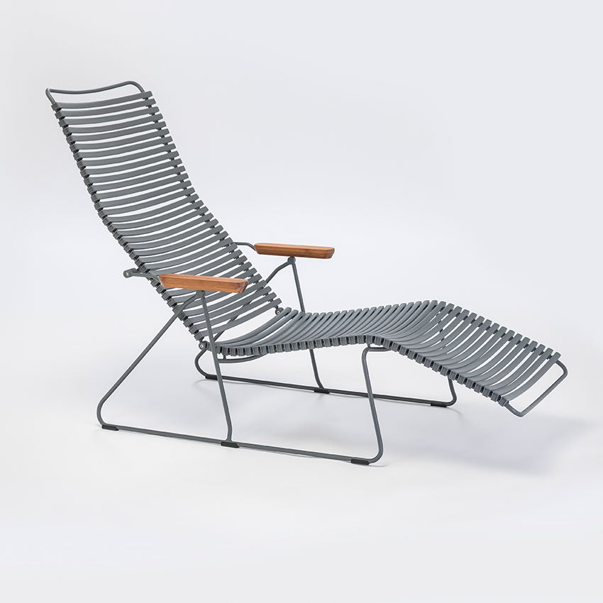 CLICK | Sunlounger Chair - Dark Grey