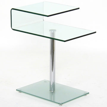 CHESTER | End Table - Glass