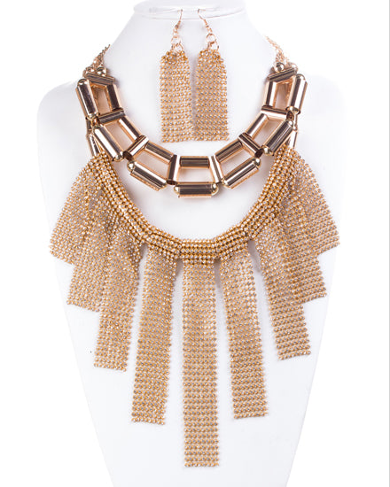 Showstopper Gold Necklace