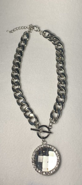Silver Hypnotize Me Necklace