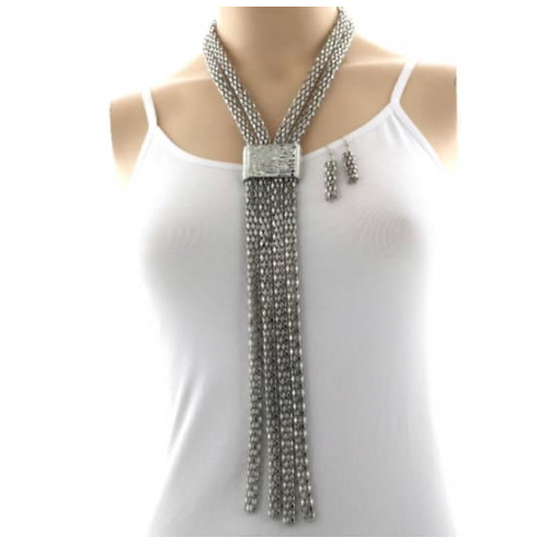 Wear and Go Silver Necklace