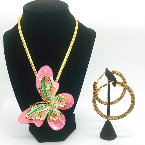 Pink Standout Necklace