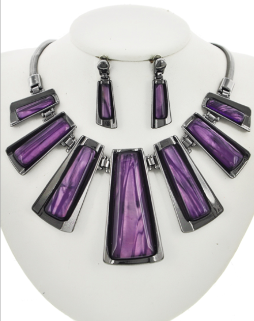 Purple Allure Necklace