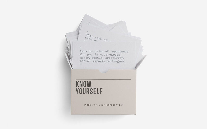 Know Yourself Prompt Cards | The School of Life