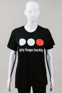BWSS Safety Changes Everything t-shirt