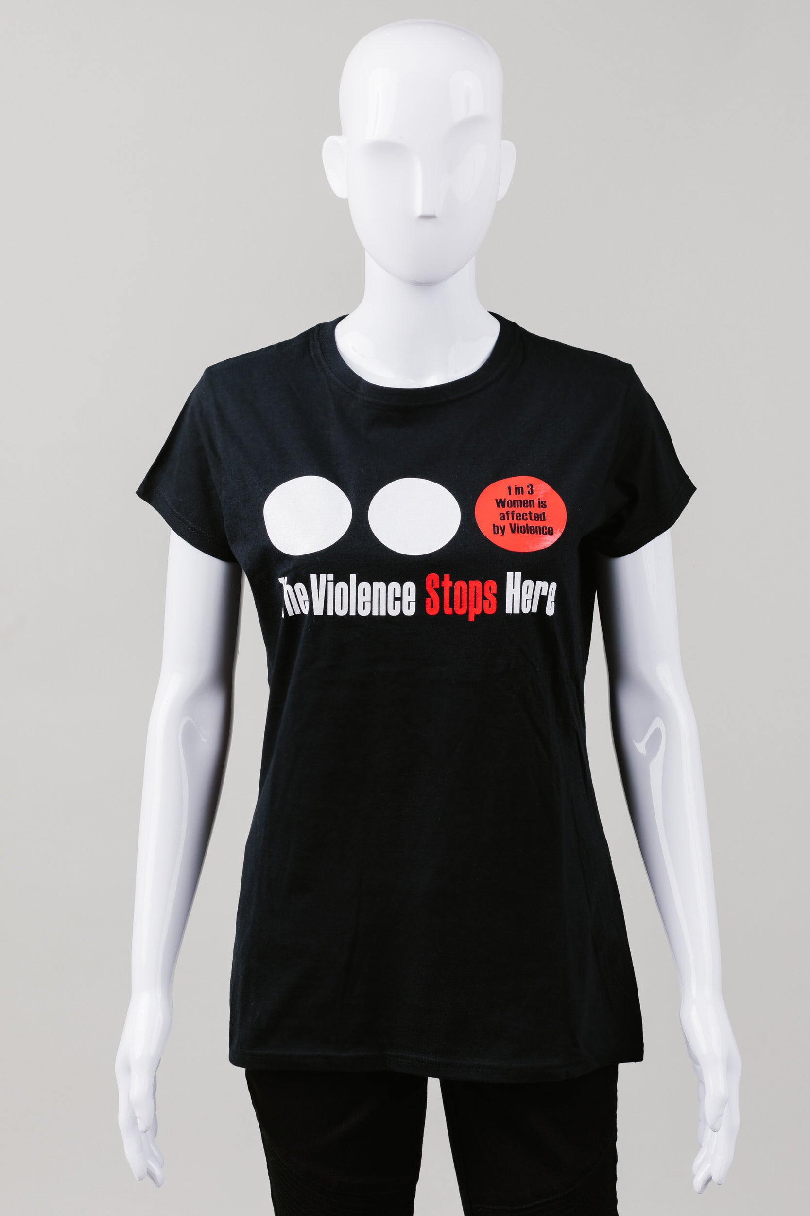 BWSS The Violence Stops Here t-shirt