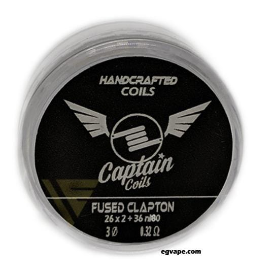 FUSED CLAPTON COILS (1 Coil)