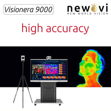 Load image into Gallery viewer, Visionera 9000 Multi Person AI Thermal Imaging Body Temperature Measurement with Face Recognition