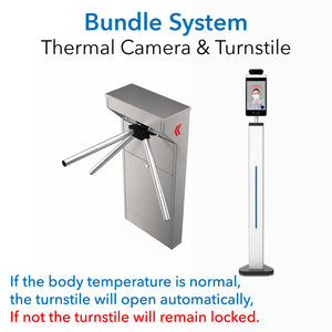 Visionera 3000 AI Thermal Imaging Body Temperature Measurement with Face Recognition