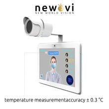 Load image into Gallery viewer, Visionera AI Thermal Imaging Body Temperature Measurement with Face Recognition