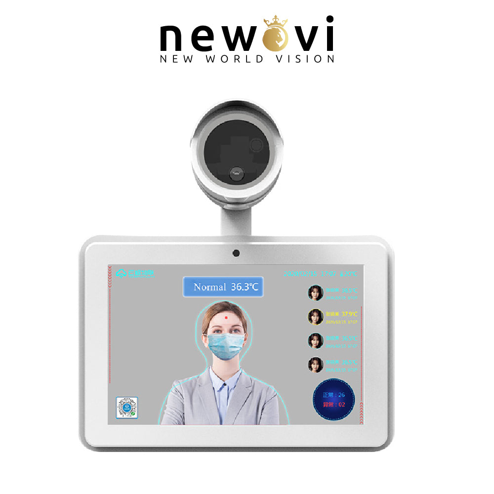 Visionera AI Thermal Imaging Body Temperature Measurement with Face Recognition
