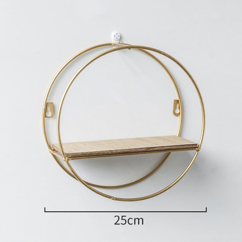 Circular Wall Shelf - DECOINTERIORS