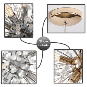 Crystal Pendant Light - Decointeriors