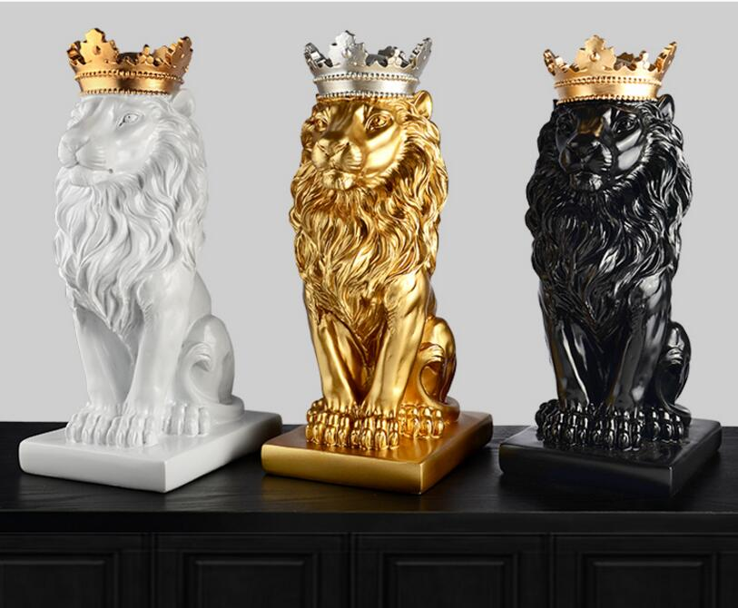 Lion Sculpture, Lion Statue - DECOINTERIORS