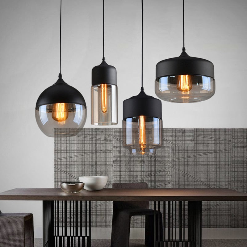 Kitchen Lights Modern Nordic Glass Lamp Dining room Light | DECOINTERIORS