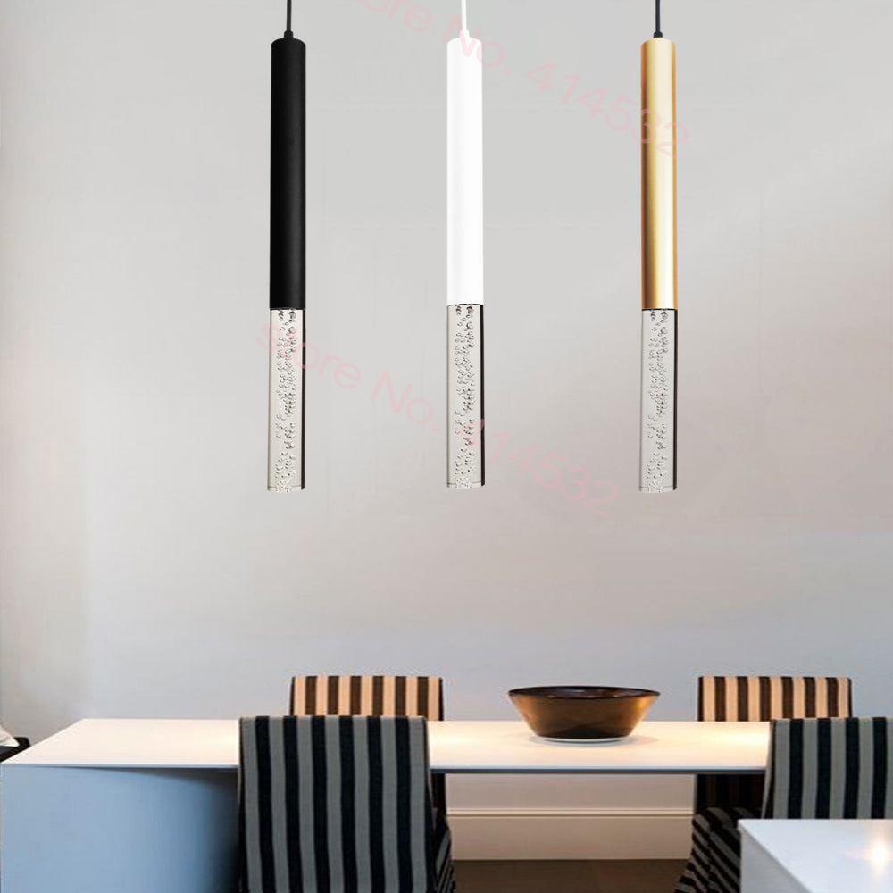 Led Pendant Light Pipe Lamp I DECOINTERIORS