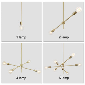 Nordic Modern Pendant Lights Long Pole Designer Pedant Lamps Ceiling Art Decoration Hanging Lamp Bar Dining Kitchen Living Room - Decointeiors
