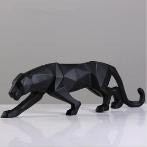 Cheetah Sculpture - DECOINTERIORS