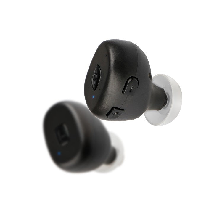 Bluetooth Hearing Aid - TWS Wireless 5.0 Noise Cancelling Rechargeable Invisible Bluetooth Hearing Aid Pair
