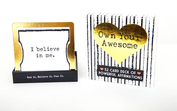 'Own Your Awesome' ~ Creative Affirmation 52 Card Deck