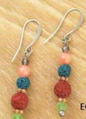 Lava Diffuser Earrings