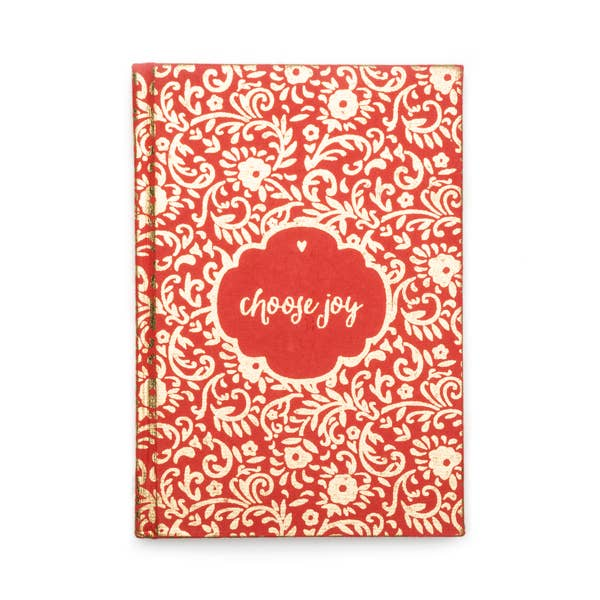Metallic Message Journal ~ Choose Joy