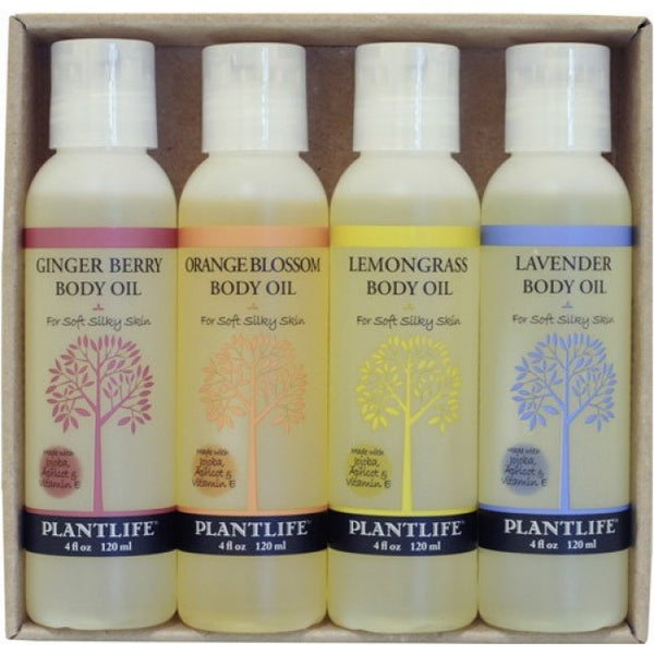 Body Oil 4 Pack