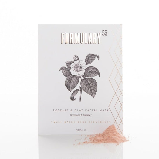 Rosehip and Clay Facial Mask - Botanical Treatment