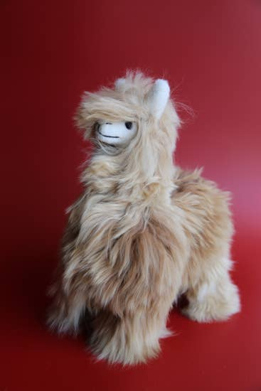 Alpaca Stuffed Dark Animal ~ Handmade Premium Stuffed Animal
