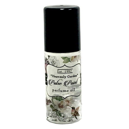 'Heavenly Garden' ~ Natural Pulse Point Perfume Body Oil