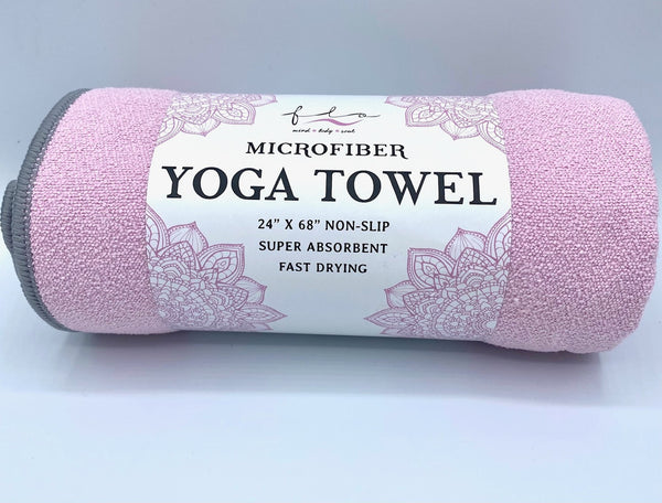 "Microfiber Yoga Towel - Large 24""x 68"""