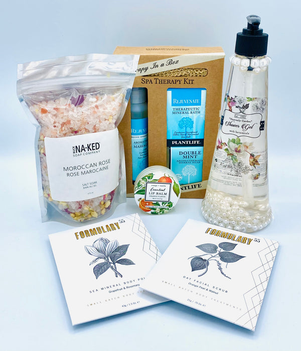 Body Therapy Premium Gift Set - Spa On The Go