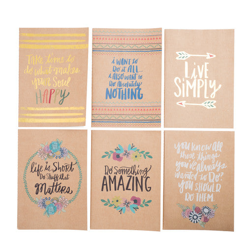 Bops - 12 pc. Journal Set