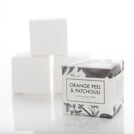 Sparkling Bath Tablets - Orange Peel & Patchouli
