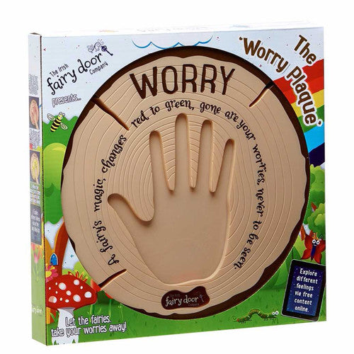 Interactive Worry Plaque - Kids Toy Worry Plaque