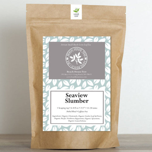 'Seaview Slumber' ~ Handcrafted Organic Artisan Loose Leaf Tea