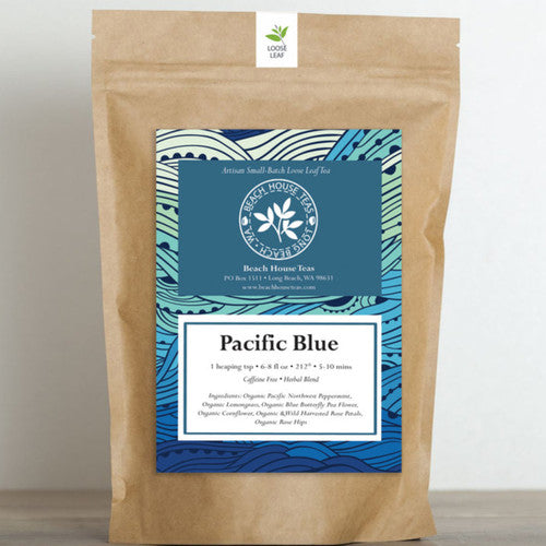 Pacific Blue Artisan~Organic Loose Leaf Tea